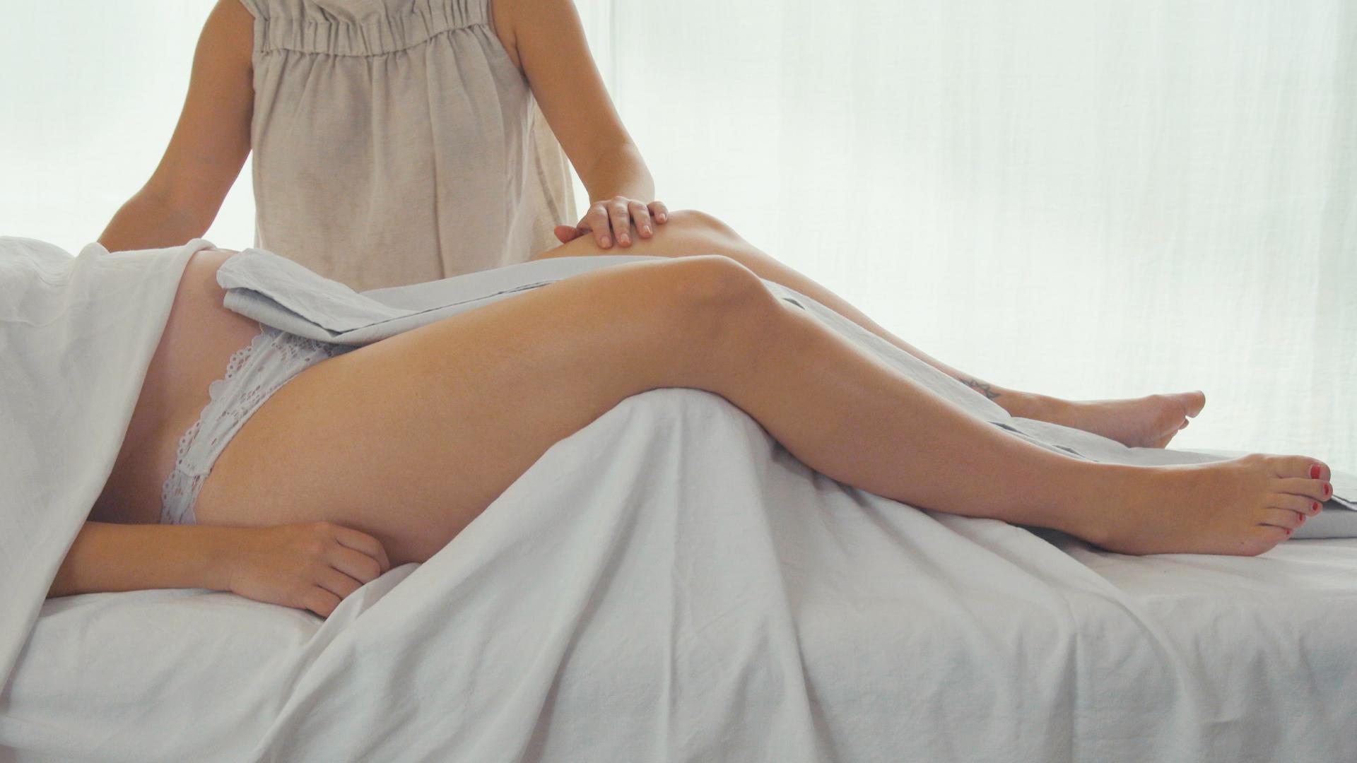 Masajes y cremas embarazo